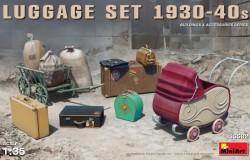 LUGGAGE SET 1930-40s 1/35