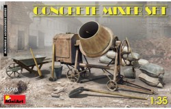 CONCRETE MIXER SET 1/35