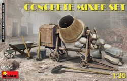 CONCRETE MIXER SET 1/35