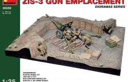 ZIS-33 GUN EMPLACEMENT 1/35