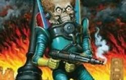 Martian Warrior from Mars Attacks 1/8