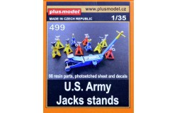 US Army jack stand resin/PE 1/35
