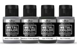 METAL COLOR SET Metallic Panel 4x32ml