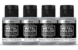 METAL COLOR SET Aluminium Dope 4x32ml