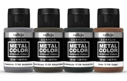 METAL COLOR SET Engine 4x32ml