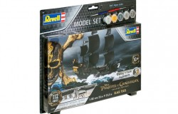Model Set Pirate Ship Black Pearl 1:150