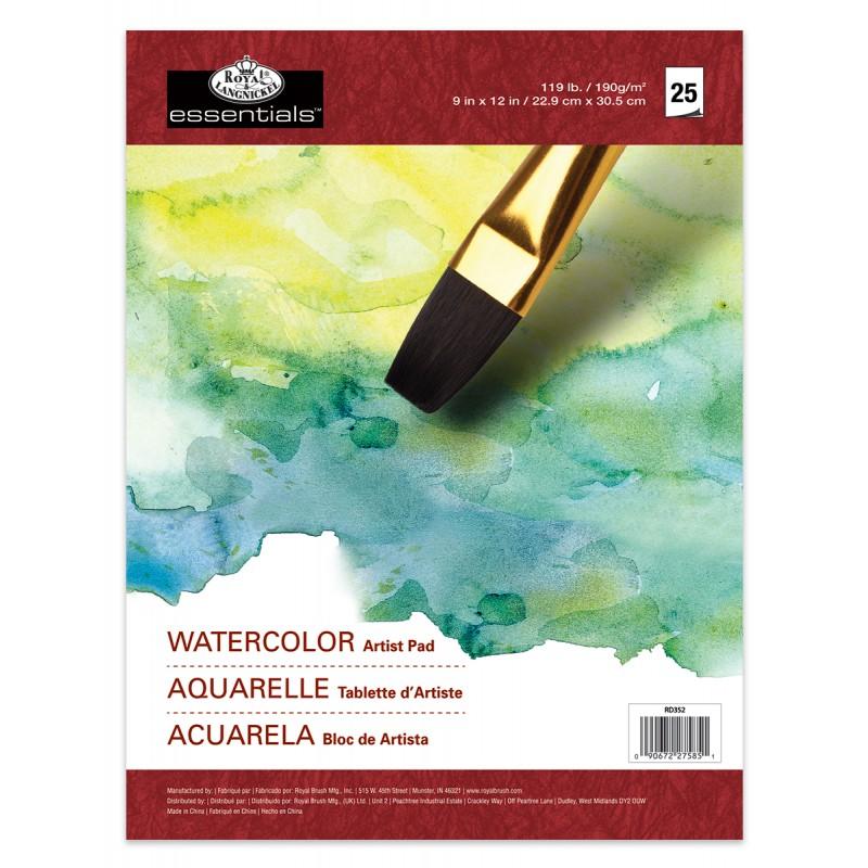 R&L Artist 9x12 Watercolor pad