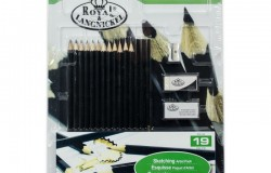 R&L Skissa set inkl block 19 delar