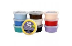 Silk Clay mixade färger basic 1