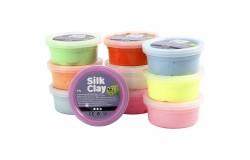Silk Clay mixade färger basic 2