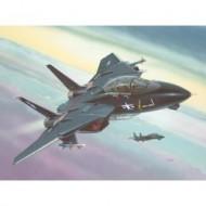 MODEL SET F-14A BLACK TOMCAT 1/144