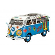 VW T1 SAMBA BUS FLOWER POWER 1/24