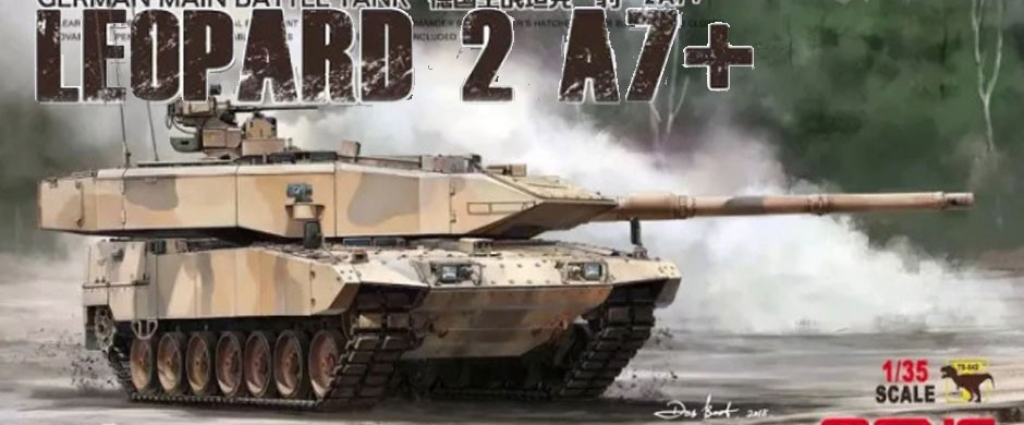 MENG German Leopard 2A7+ 1/35