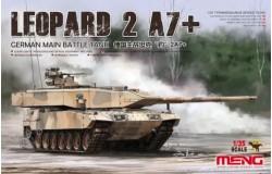 German Main Battle Tank Leopard 2A7+ 1/35