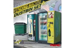 Vending Machine & Dumpster Set 1/35