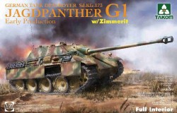 Jagdpanther G1 early production German 1/35
