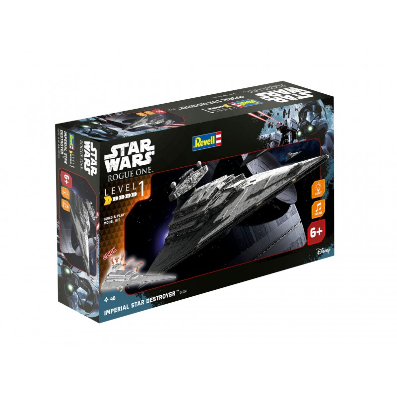 "Build & Play Star Wars ""Imperial Star Destroyer"" ljud/ljus"