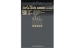 British 20 pdr ammo set