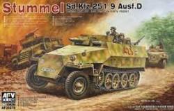 Stummel Sd.Kfz.251/9 Ausf.D 7,5cm KwK37