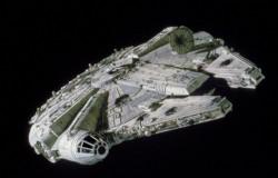 STAR WARS MASTER SERIES MILLENIUM FALCON 1/144