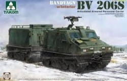 Bandvagn BV 206S Articulated Armored Personnel Carrier - complete interior 1/35