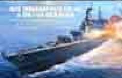 USS Indianapolis CA-35 1945 & IJN I-58 w/Kaiten [Premium Edition] 1/350  (2 boats)