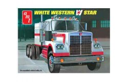 White Western Star Semi Tractor 1/25