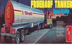 Shell Fruehauf Tanker Trailer 1/25