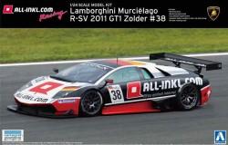 Lamborghini Murcielago 2011 GT1 Zolder overseas ed. 1/24