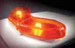 Toyota LED FLASHER PATROL CAR LIGHT 1/24