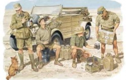 Deutsche Africa Korps (4 fig.) 1/35