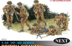 British INFANTRY (NORMANDY 1944) 6 FIG. 1/35