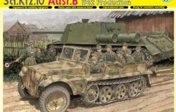 Sd.Kfz.10 Ausf.B 1942 Production 1/35