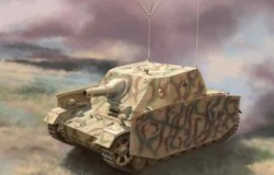 Sturmpanzer Brummbär Ausf.I als Befehlspanzer (Umbau Fahrgestell Pz.Kpfw.IV Ausf.G) 1/35