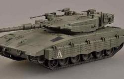 I.D.F Merkava III,1995 READY BUILT 1/72