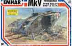 MK. V  WW I BATTLE TANK 1/35