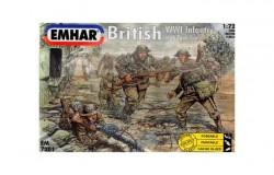 British Infantry & Tank Crew WW1 Figures (52 fig) 1/72