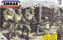 "American ""Doughboys"" WW I Infantry 1/72"
