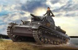 Panzerkampfwagen IV Ausf D / TAUCH 1/35