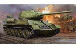 WWII Soviet T34/85 1/16