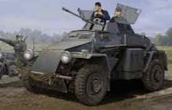 German Sd.Kfz.222 Leichter Panzerspahwagen (3 rd Series) 1/35