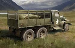 US GMC CCKW-352 Wood Cargo Truck  1/35