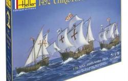 Christopher Columbus 3 ships Nina,St Maria, Pinta 1/75
