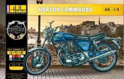 NORTON 750 COMMANDO (incl. glue, paint, brush)    1/8
