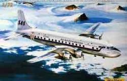 SAS DC6 SUPER CLOUDMASTER (SAS decals) 1/72