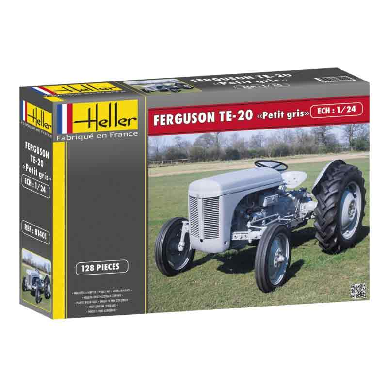 FERGUSON GRÅLLE GRÅTASS - Traktor 1/24
