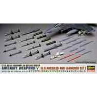 AIRCRAFT WEAPONS V : US MISSILES AND LAUNCHER SET  1/72