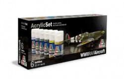 Acrylic Set (6 pcs.) WWll RAF Aircraftl