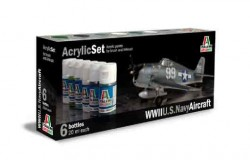Acrylic Set (6 pcs.) US Navy Aircraft