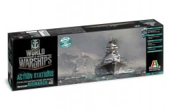World of Warships - German Battleship Bismarck 1/700